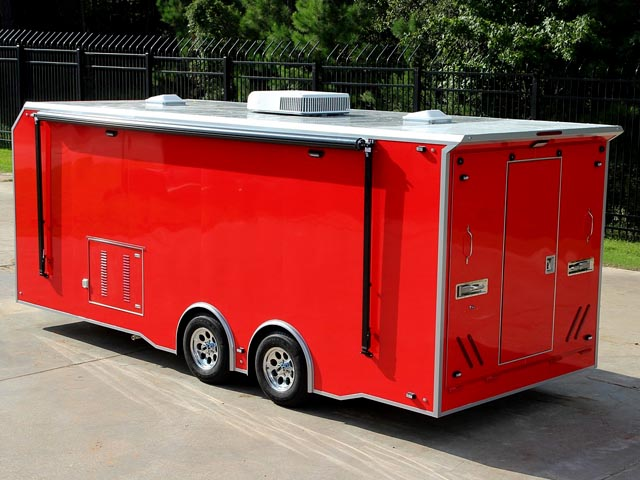 dive and rescue trailer