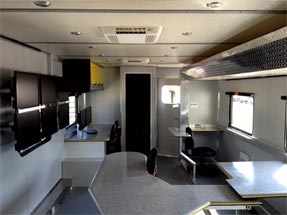 Data Trailer Interior