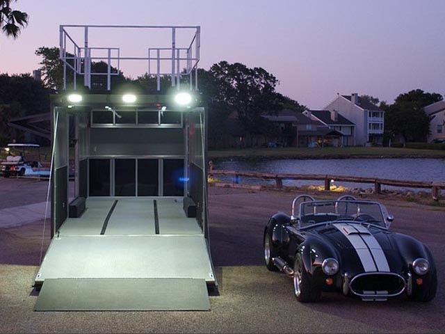 State-Of-The-Art Race Transporters and Car Haulers